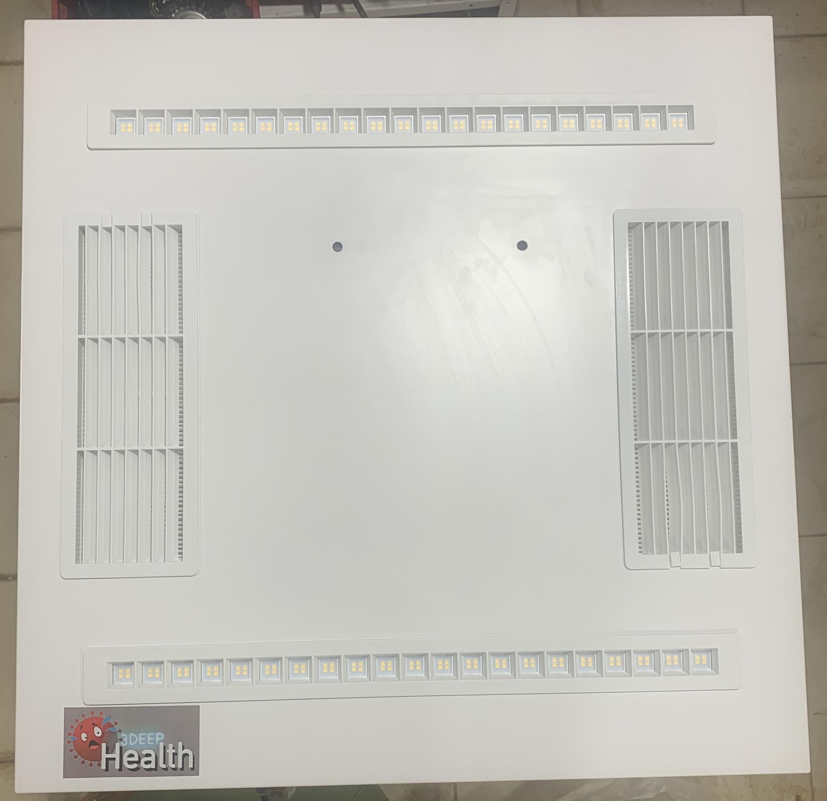 3Deephealth Beltéri fertőtlenítő UV-C lámpa