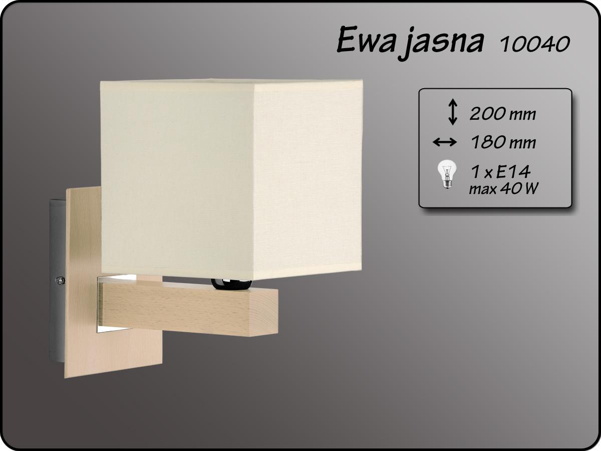 ALFA • EWA JASNA, fali lámpa, ALFA