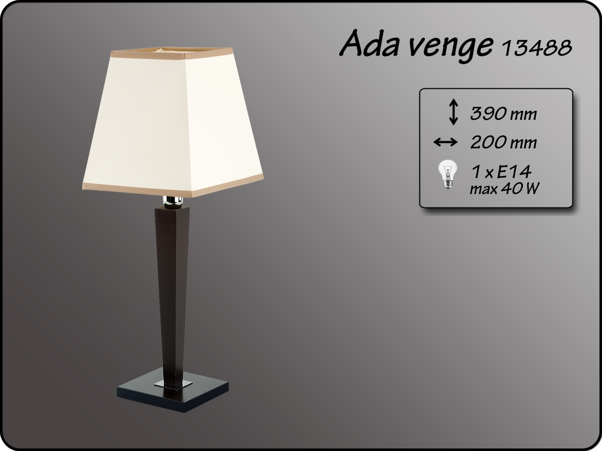 ALFA • ADA VENGE, asztali lámpa, ALFA
