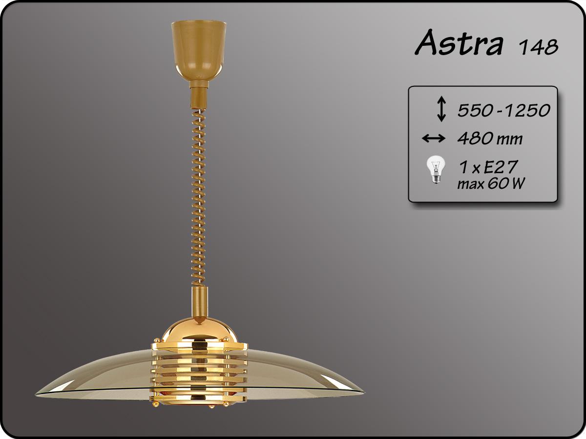 ALFA • ASTRA GOLD, függeszték, rollys, arany, ALFA