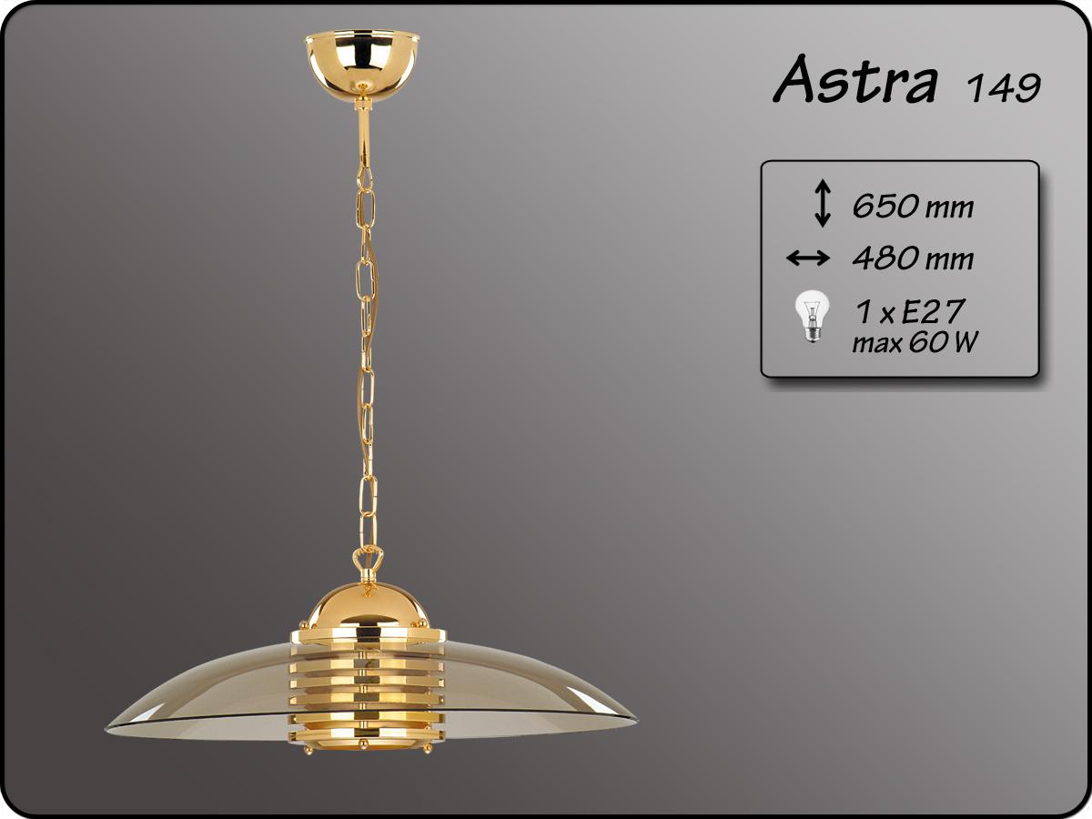 ALFA • ASTRA GOLD, függeszték, fix, arany, ALFA