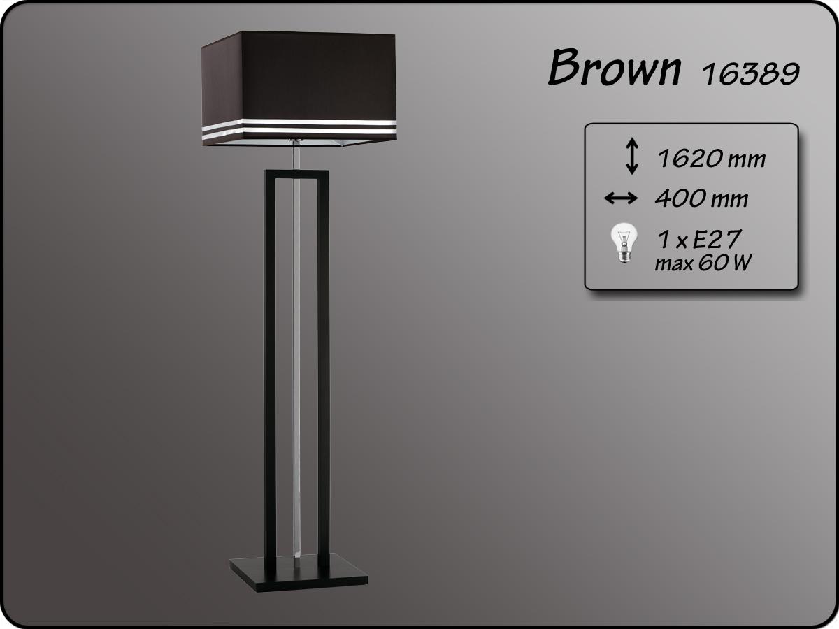 ALFA • BROWN, állólámpa, ALFA