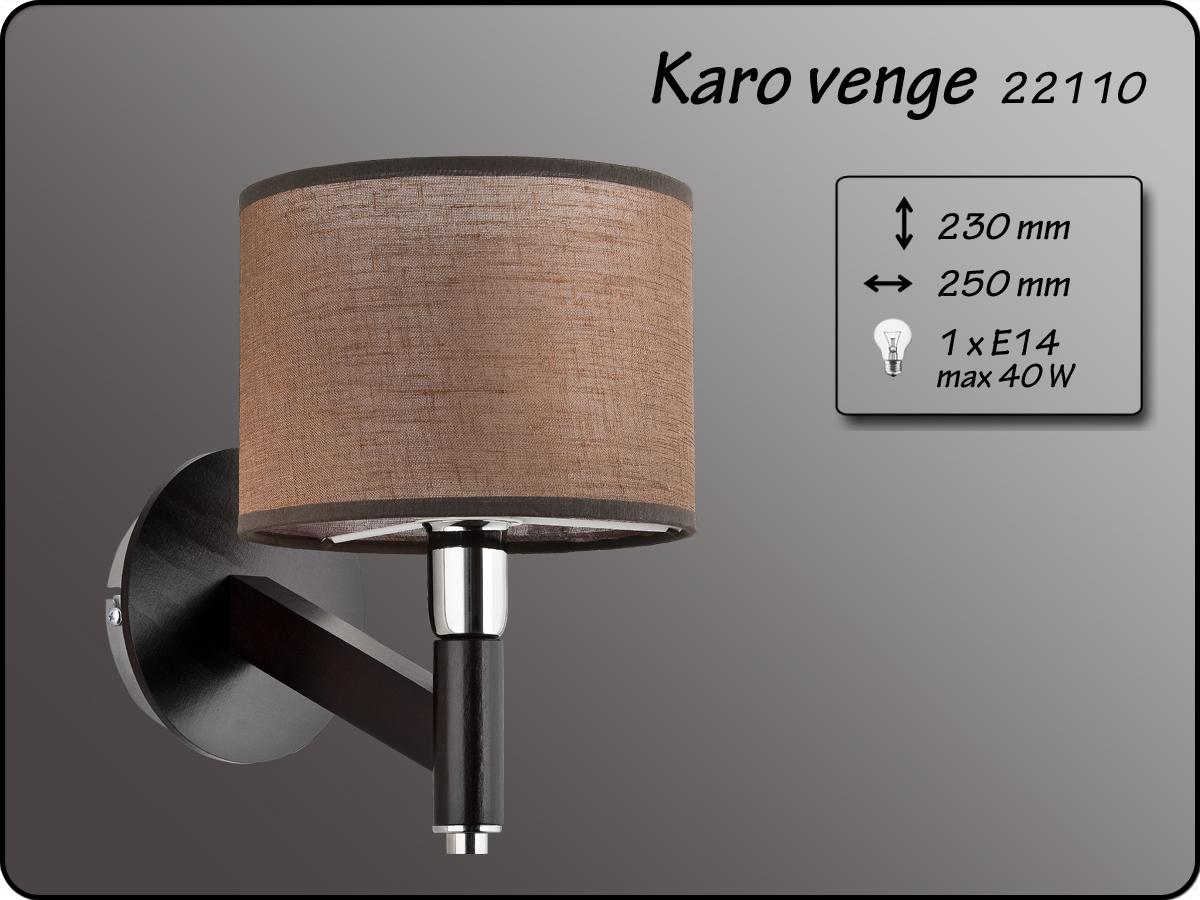 ALFA • KARO VENGE, fali lámpa, ALFA