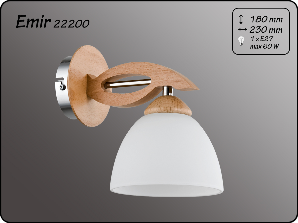 ALFA • EMIR, fali lámpa, ALFA