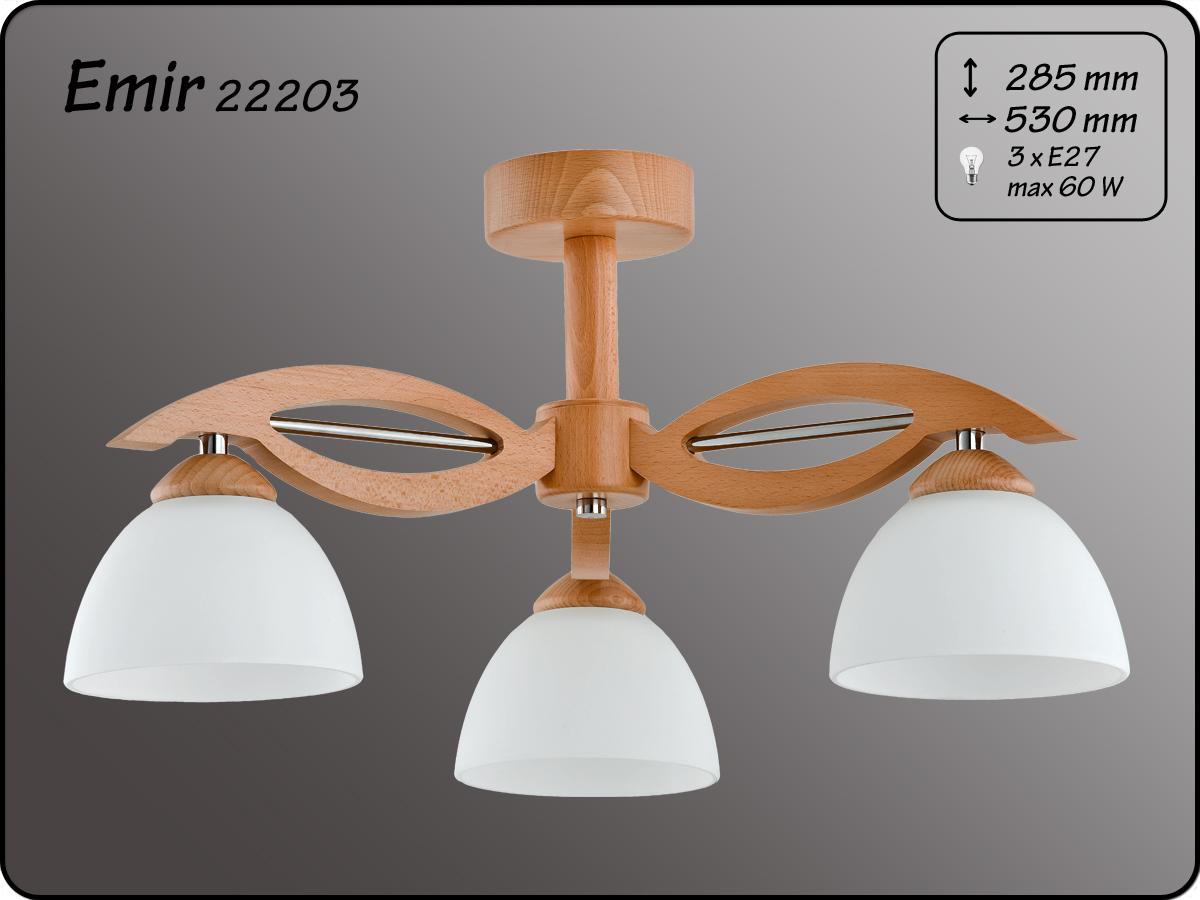 ALFA • EMIR, 3 ágú mennyezeti lámpa, ALFA