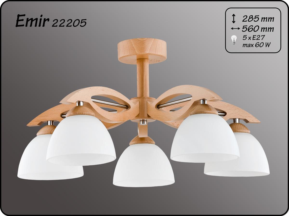ALFA • EMIR, 5 ágú mennyezeti lámpa, ALFA
