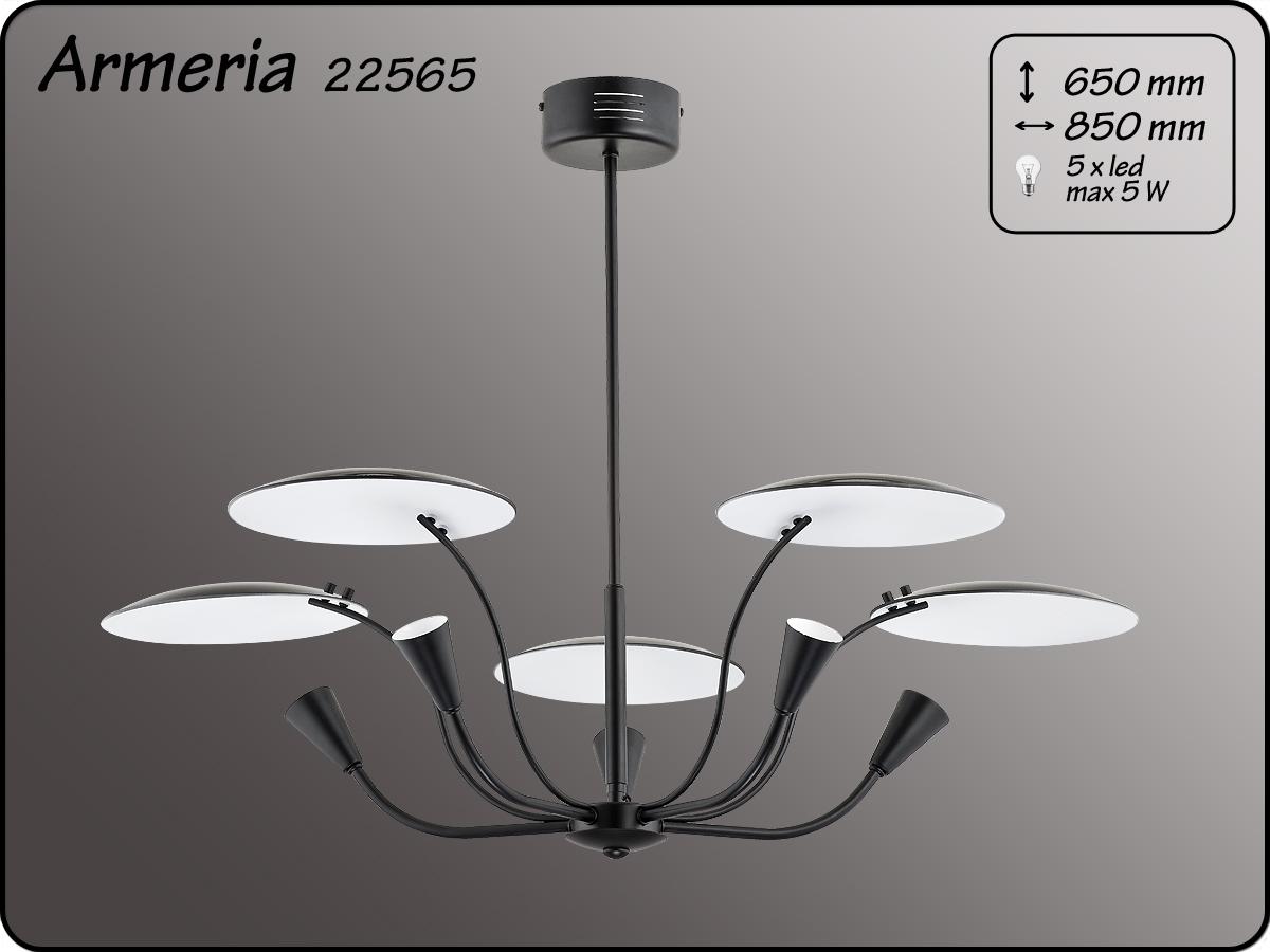 ALFA • ARMERIA BLACK, 5 ágú csillár, ALFA