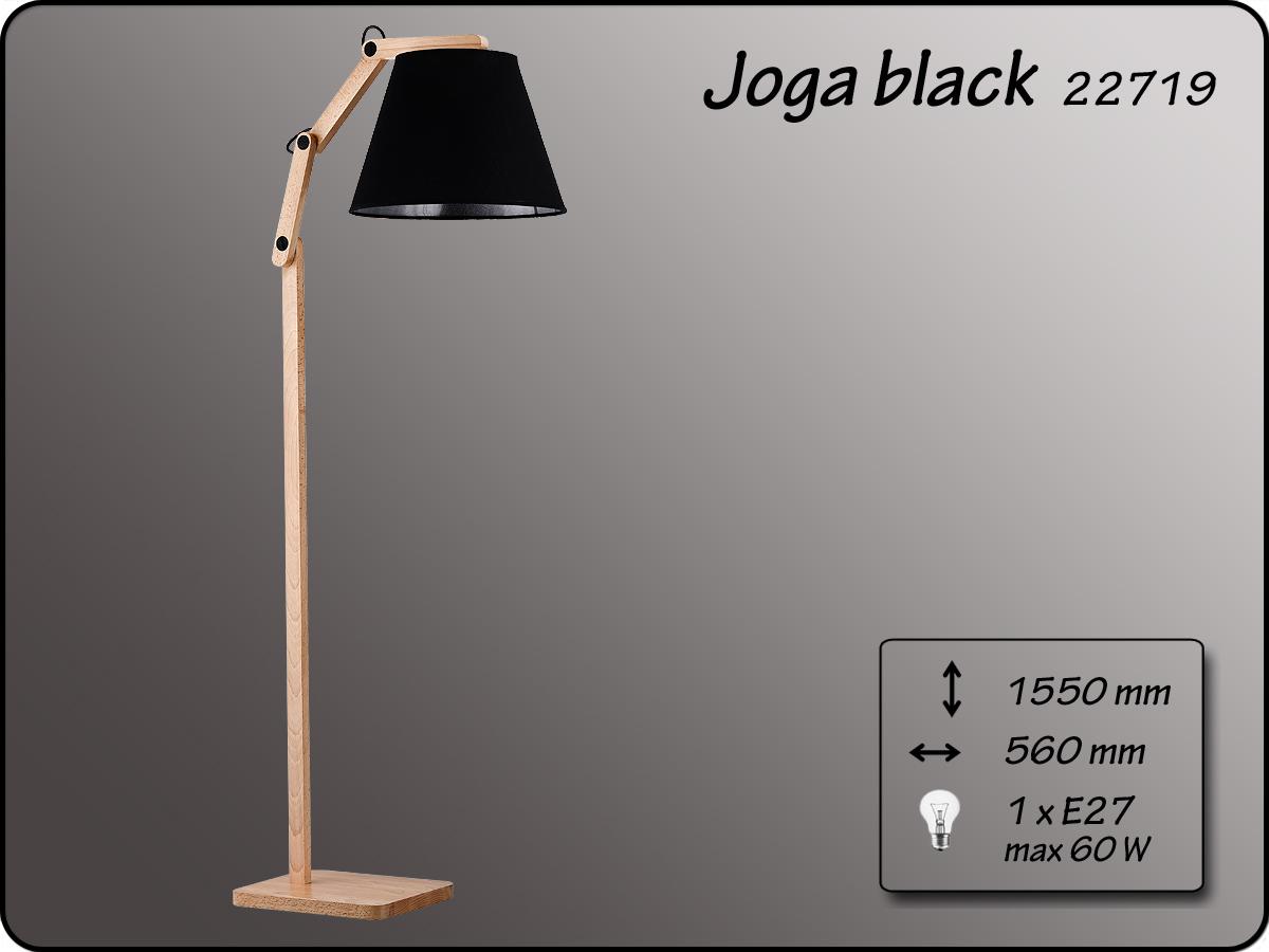 ALFA • JOGA  BLACK, állólámpa, ALFA