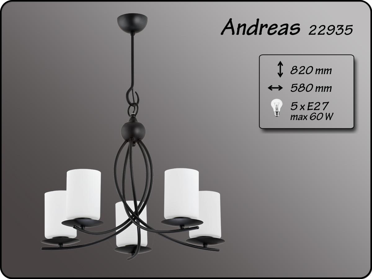 ALFA • ANDREAS, 5 ágú csillár, ALFA