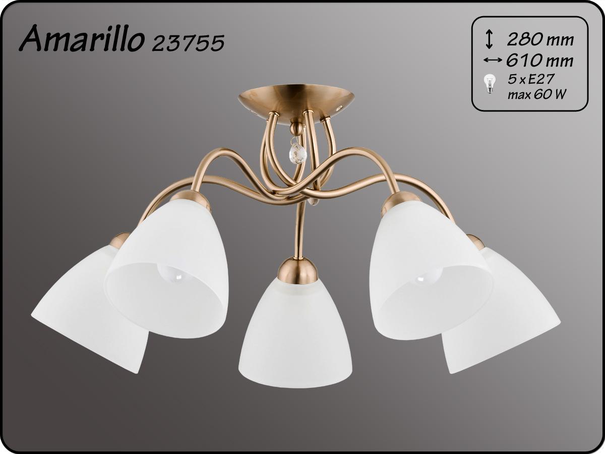 ALFA • AMARILLO PATYNA, 5 ágú mennyezeti lámpa, ALFA
