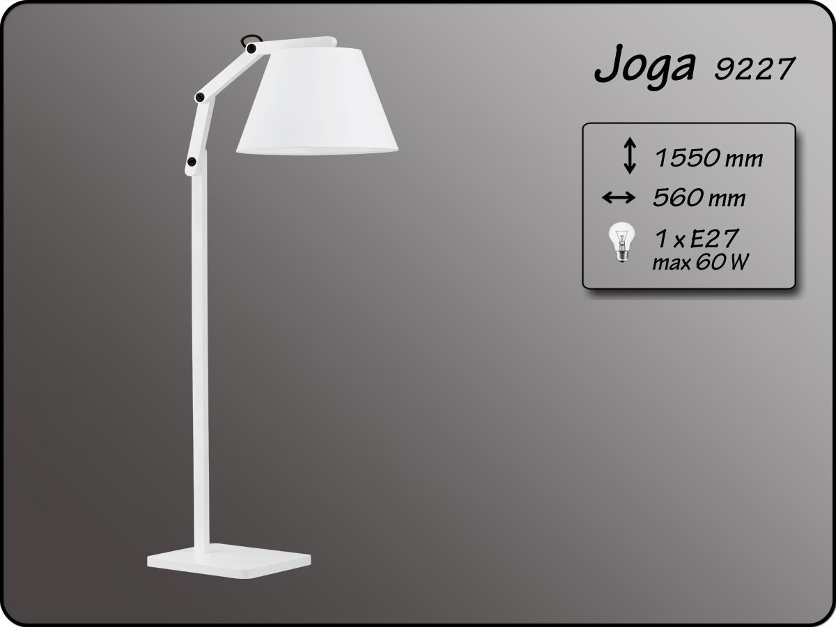ALFA • JOGA, állólámpa, fehér, ALFA