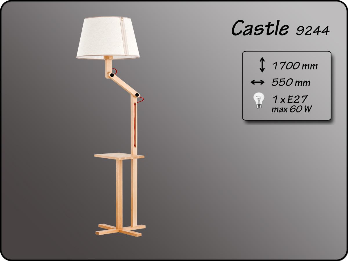 ALFA • CASTLE, állólámpa, ALFA