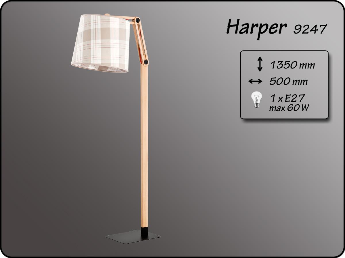 ALFA • HARPER, állólámpa, ALFA