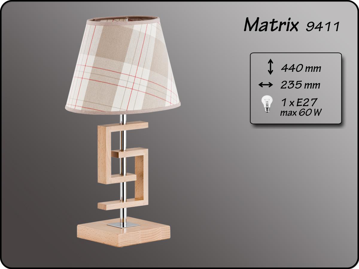 ALFA • MATRIX, asztali lámpa, ALFA