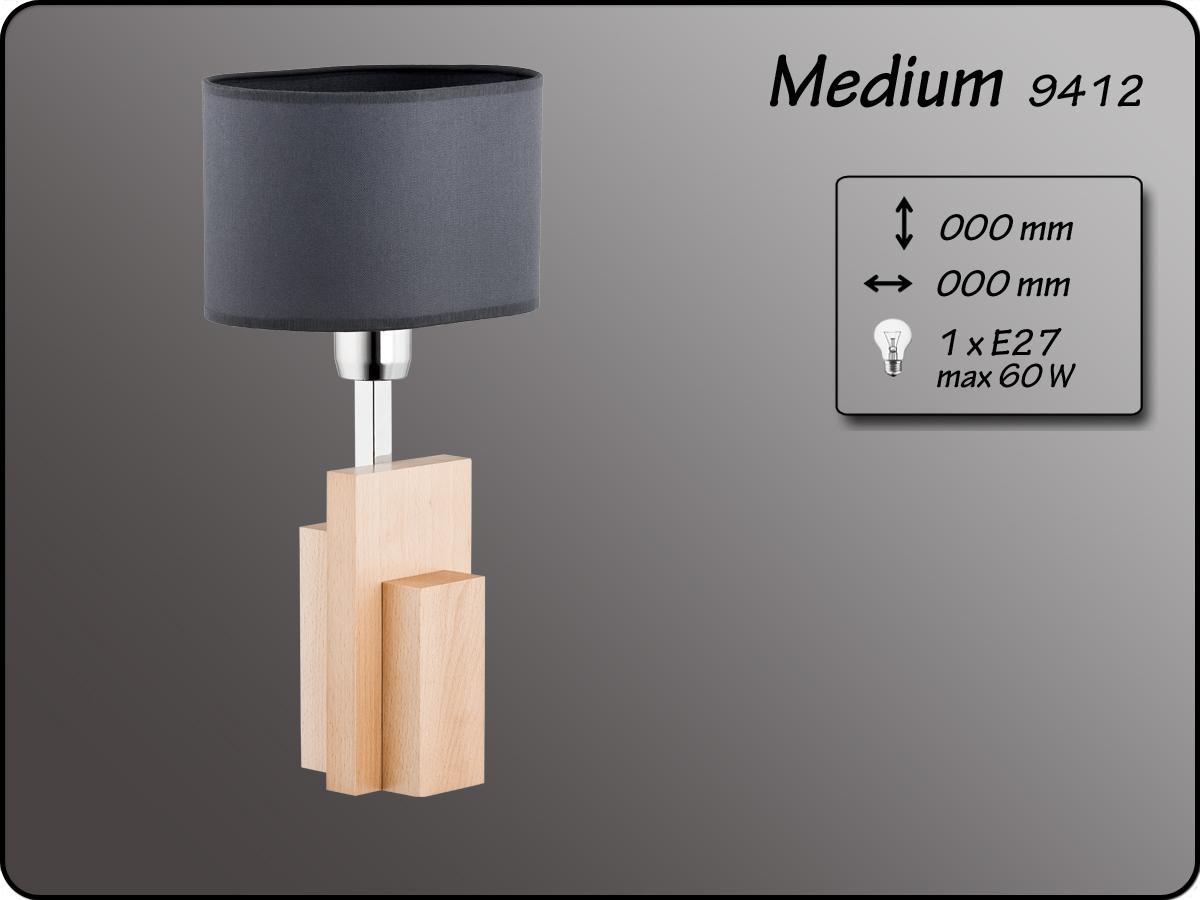 ALFA • MEDIUM, asztali lámpa, ALFA
