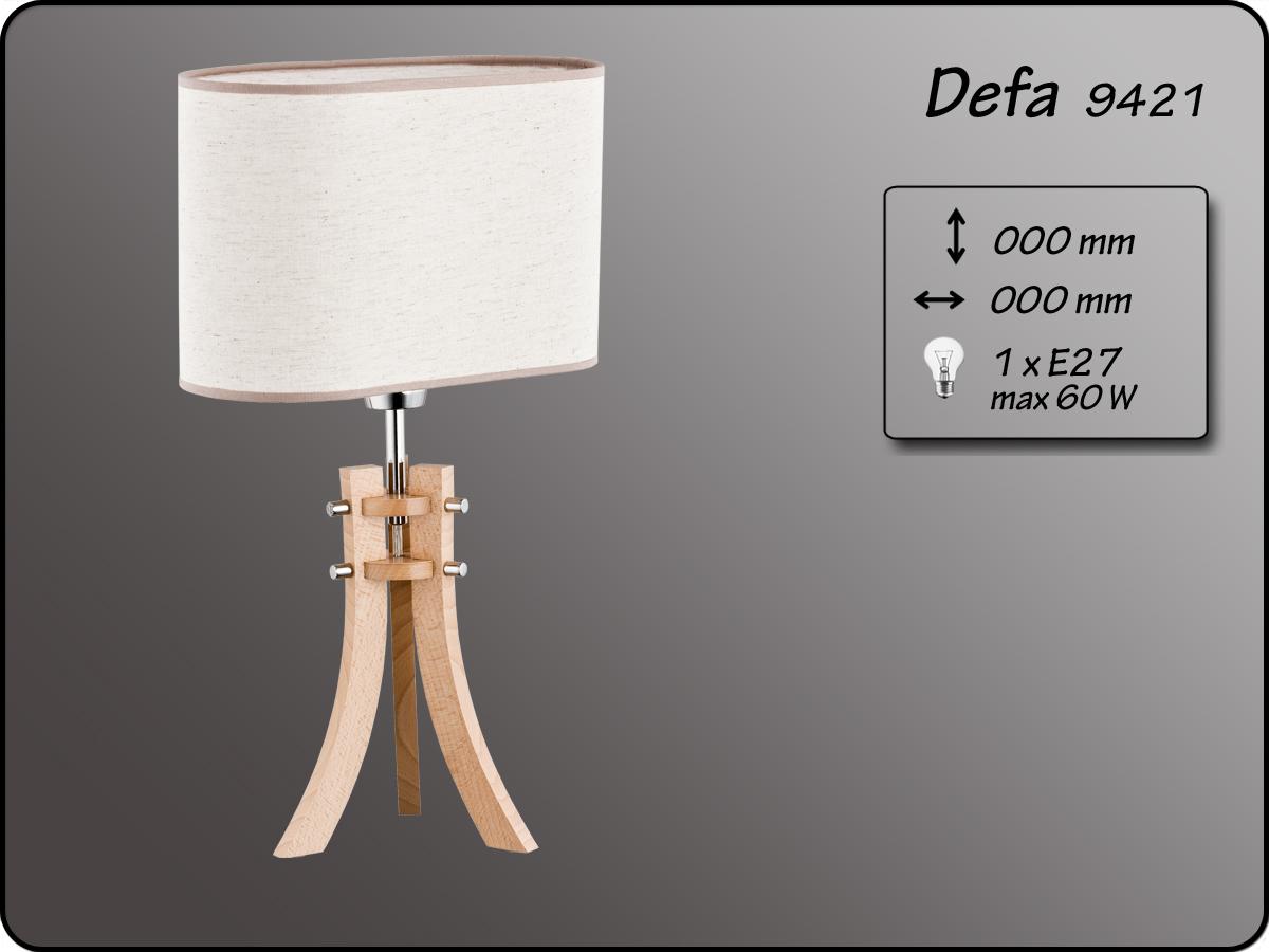 ALFA • DEFA, asztali lámpa, ALFA