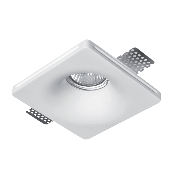 Elmark Lakásvilágítás GYPSUM DOWNLIGHT SQUARE RECESSED GU10 100X100mm