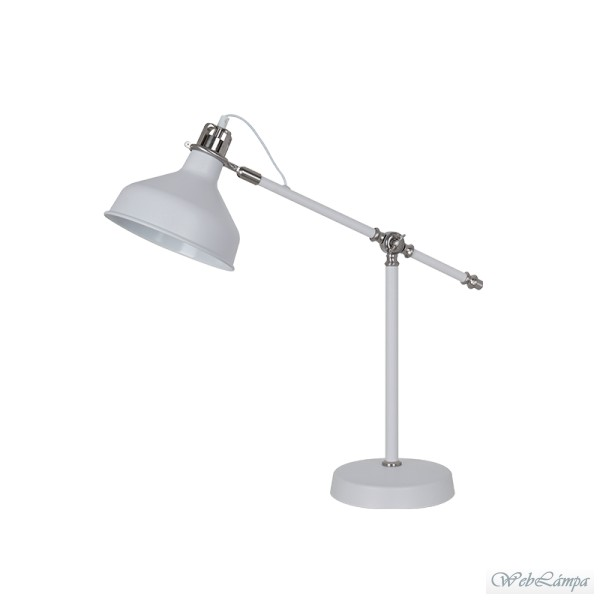 Elmark Lakásvilágítás JOHN TABLE LAMP 1XE27 H600mm WHITE