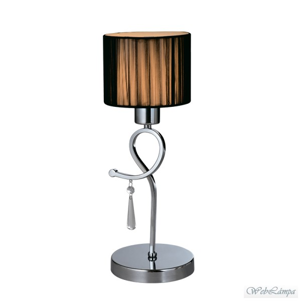 Elmark Lakásvilágítás LILLY TABLE LAMP 1XE27 D150X410mm CHROME