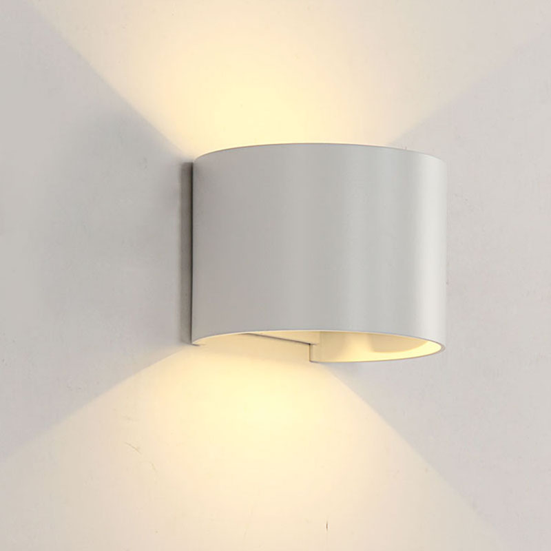 Elmark Lakásvilágítás  969 LED WALL LIGHT ROUND 2X5W 4000K IP54 WHITE