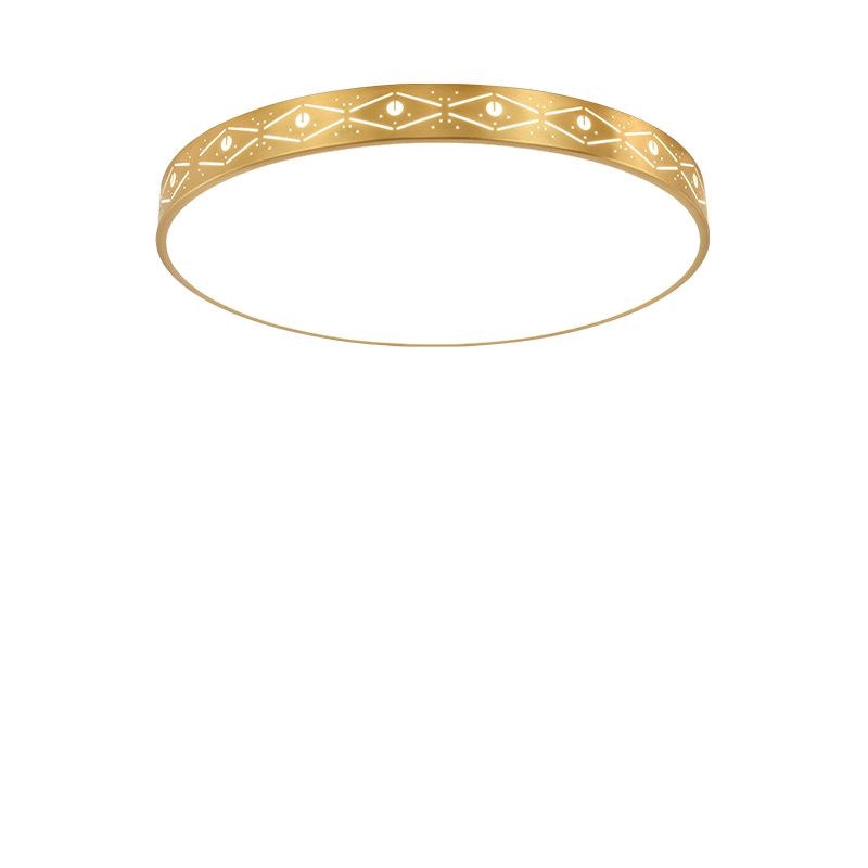 HoDel réz LED mennyezeti lámpa