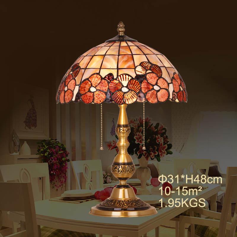 HoDel Flowers tiffany asztali lámpa