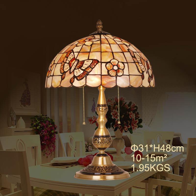 HoDel Butterfly tiffany asztali lámpa