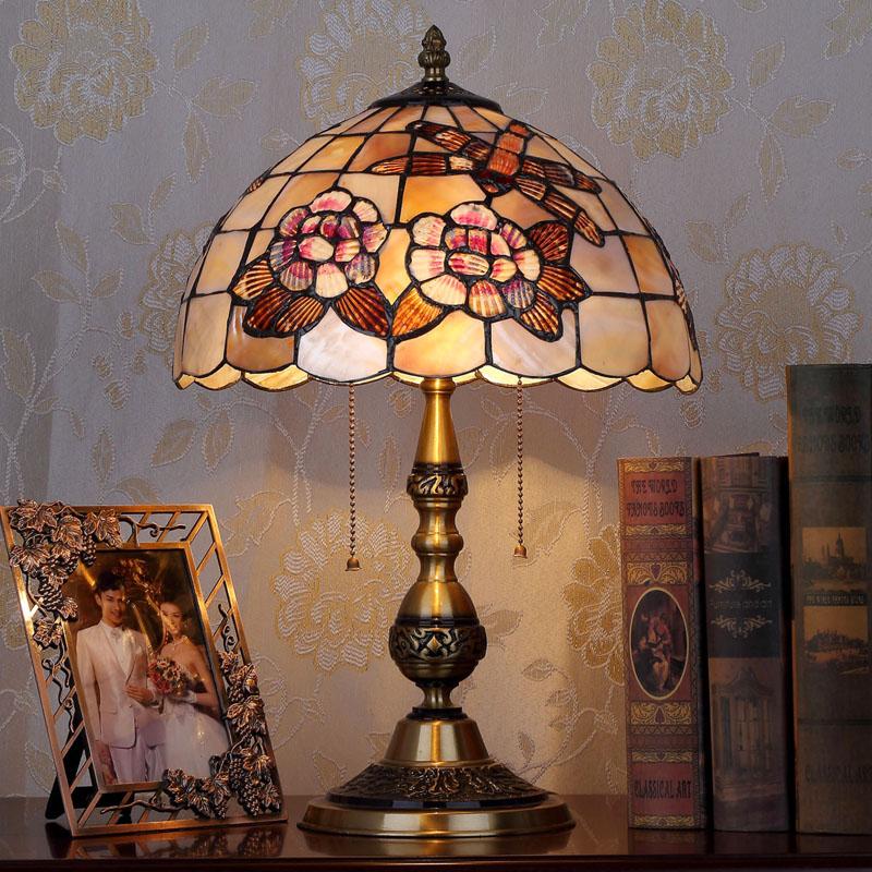 HoDel Wheelflower tiffany asztali lámpa