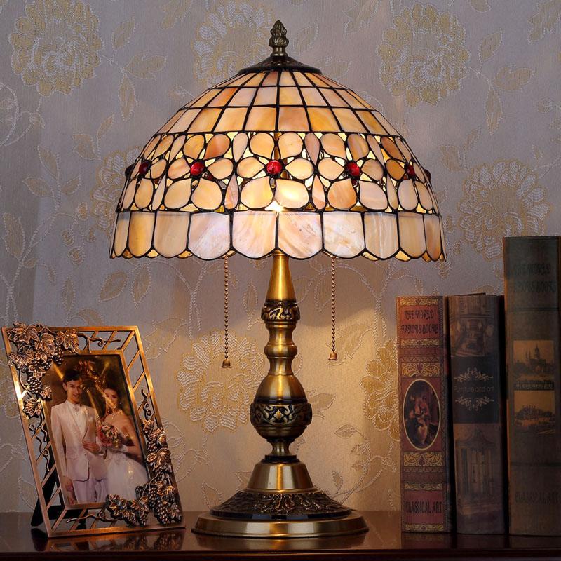 HoDel Succulents tiffany asztali lámpa