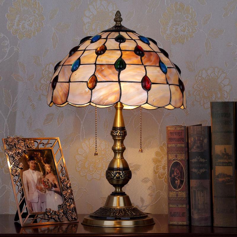 HoDel Colorpoints tiffany asztali lámpa