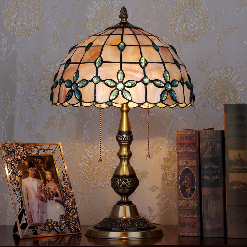 HoDel Cristalleaf tiffany asztali lámpa