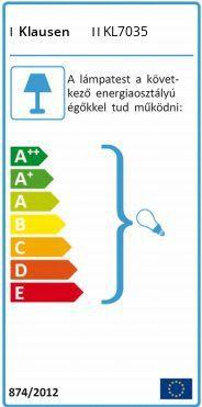 Klausen • Alexia, 2 ágú fali lámpa, KL-7035