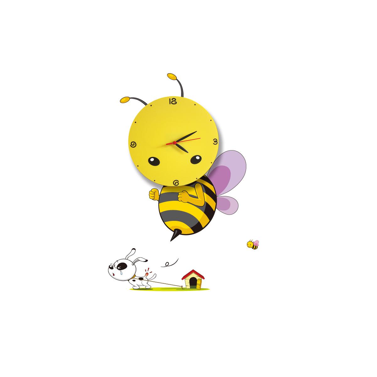 Milagro BEE LED CLOCK  145